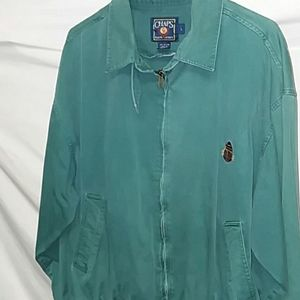 Chaps Ralph Lauren size L Full Zipper 100% cotton